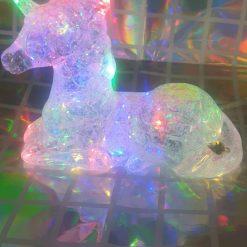 Stunning, shimmering, glistening, light up unicorn gift. Birthday's or Christmas, night light
