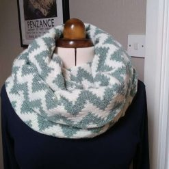 B Infinity Scarf Hand crafted and designed