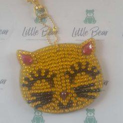Cat Head Bag Charm