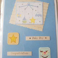 Birth card (boy)