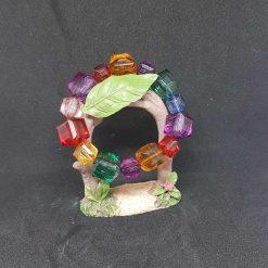 Chunky Square Acrylic Bracelet - B68