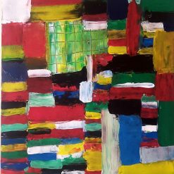 Abstract Art - behind the colours