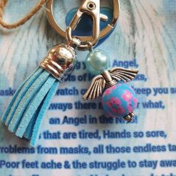 NHS Angel Keyring Keepsake Gift Wallet Card