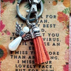 Angel Keepsake Keyring Wallet Card For You Nan
