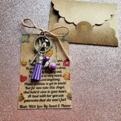 Angel Keepsake Keyring Wallet Card Best Friend