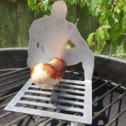 BBQ sausage holder