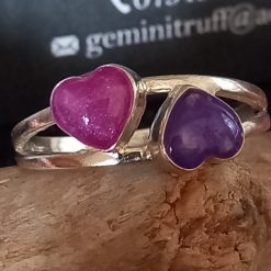 Sweethearts ring memorial cremation jewellery keepsakes