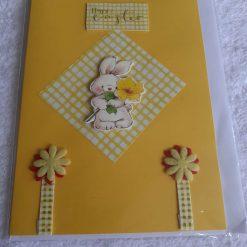 Handmade Easter egg card