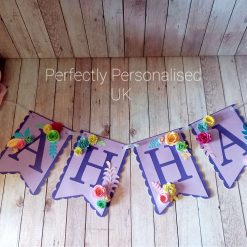 Personalised Bunting, Personalised Banner