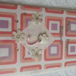 Handmade birthday card 3D tool belt card