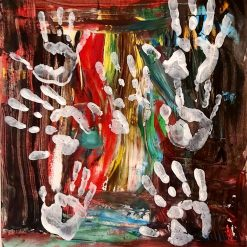 Original Abstract Art - Hands on