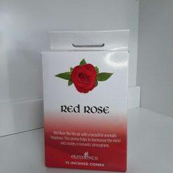 Rose incense cones
