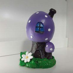 Mushroom cone burner in purple