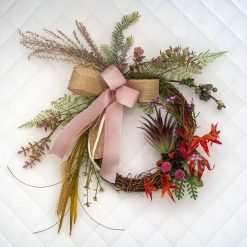 Early Autumn – Small Sized Custom Artificial Wreath Available to Buy Now