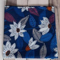 Handkerchief. Handmade in acotton floral print from Seasalt Cornwall. cotton 26cms