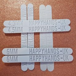 Clay thickness guides - 4 pairs (1.5mm, 3mm, 4.5mm and 6mm depths)