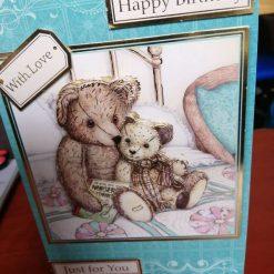 Cute Teddy Birthday Card