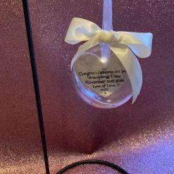 Wedding gift bauble