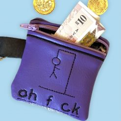 Rude Coin Purse with key fob
