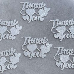 Thank you cupcake toppers Pk 10