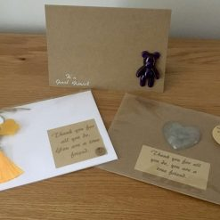 Friendship Card with Removable Resin Gift