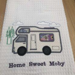 Camper van tea towel