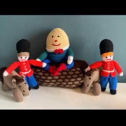 Hand Made Knitted Humpty Dumpty Story Time Made With Love