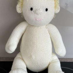Hand knitted Boy doll