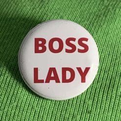 BOSS LADY BADGE