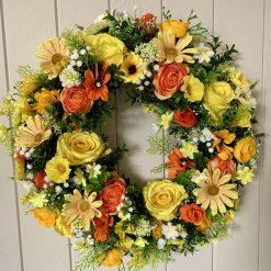 Vibrant yellow Wreath