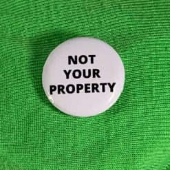 NOT YOUR PROPERTY BADGE