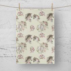 Tea Towels Appleby Horses - 100% Cotton Poplin **Exclusive** (Set of 4)