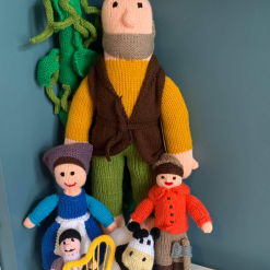 Jack And The Beanstalk Hand Knitted Story Time Hand Made With Love