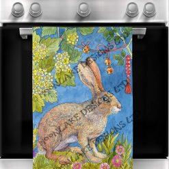 Tea Towel Fantasy Forest - 100% Cotton Poplin **Exclusive** (Set of 4)