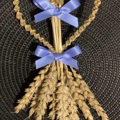Four braid love heart