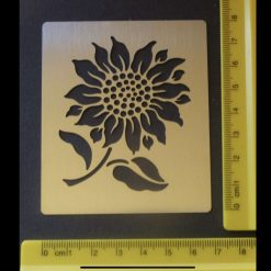 Stainless Steel Sunflower Design Stencil/Template Emboss/Card-Making (Copy)