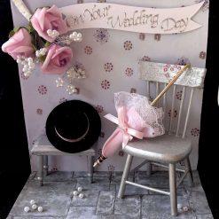 Wedding Card .. Parasol