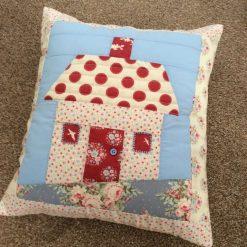 Patchwork House Cushion Cover- Handsewn-Cotton-Cushions- cushion Cover