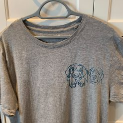 Personalised T-Shirt - Grey (Iron On)