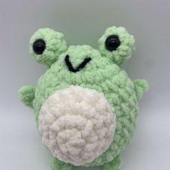 Plush frog soft toy, stress toy.