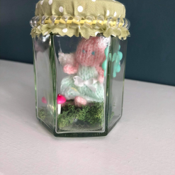 Worry Fairy In A Jar Made With Love