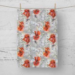 Tea Towel Siamese Fighting Fish - 100% Cotton Poplin **Exclusive**