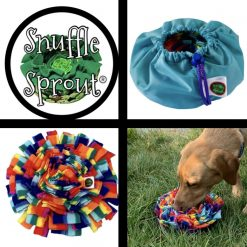 Snuffle Sprout®️ Snuffle mat Sniff the Rainbow Blue🌈