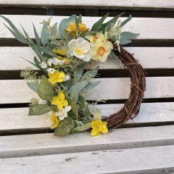 Mini floral wreath