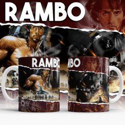Rambo Movie Mug