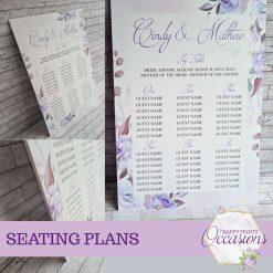 Wedding Seating Plan - Different Designs