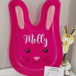Personalised Bunny plates
