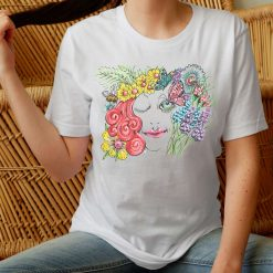 Bee My Love - Mens T-Shirt (UK Sizes up to 6XL)- Artwork by the Very Talented Artist Sarah Neville - Made to Order
