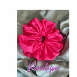 Oversized Penelope Hair Scrunchie (Pink)