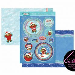 Hunkydory - Christmas Blockbuster 2021 - Festive Fun - Frosted, Fun & Furry - Luxury Topper Set